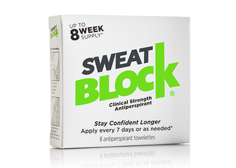 SweatBlock - Excess Armpit Sweat Solution