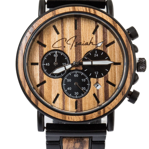 The Carter - Cool Elegant Wooden Watch - All Baby Plush