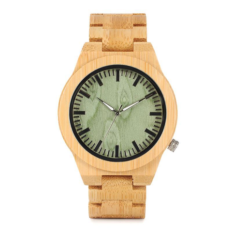 "The ""Miyota"" Wood Watch - All Baby Plush"