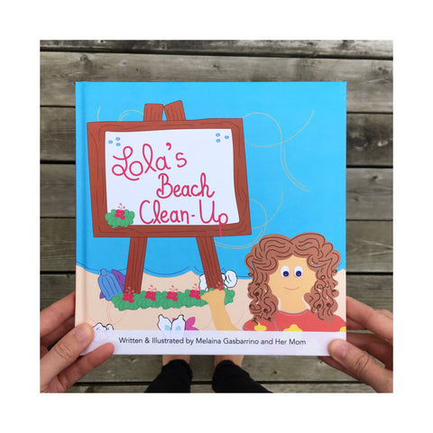 SALT to TREE: Lola's Beach Clean-Up Kids Environmental Book