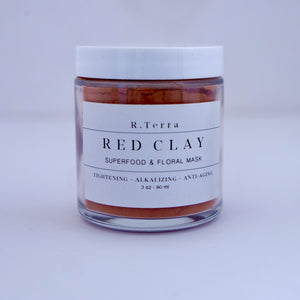 açaí clay mask