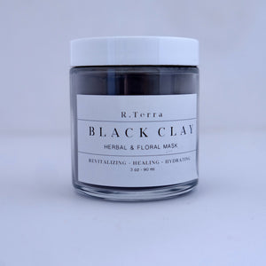 Black Clay Herbal & Floral Mask