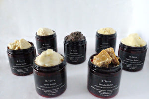 brazilian raw butters
