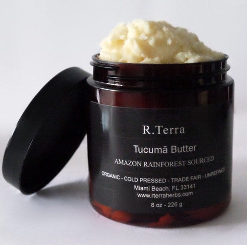 tucuma butter, raw butters