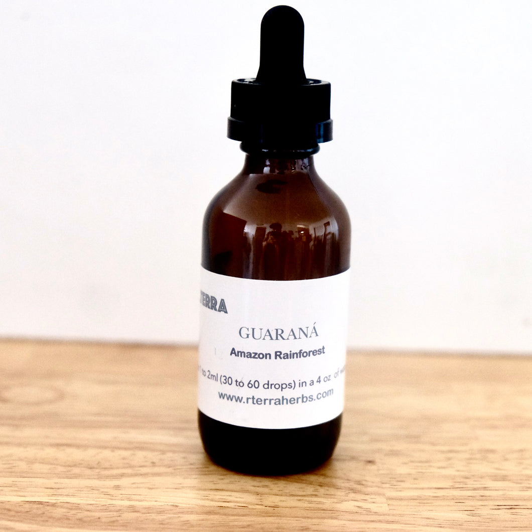 Guarana tincture - Paullinia cupana