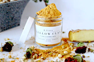 Yellow Clay - Mask - Tightening - Toning - Purifying - All Natural