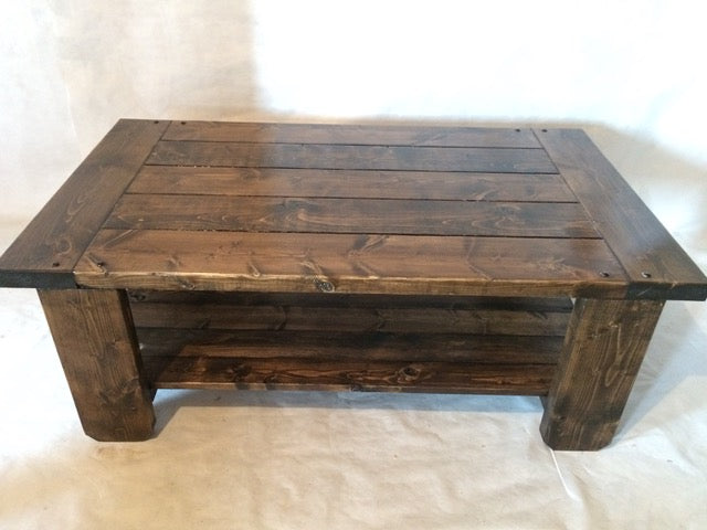 Rustic Coffee Table 3