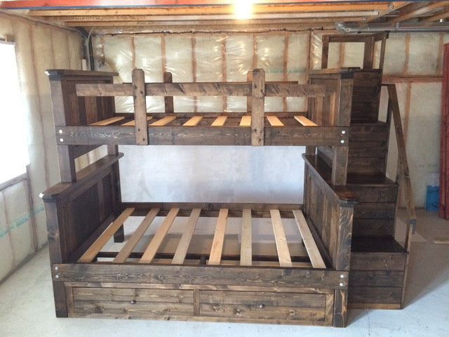 Storage Bunk Bed