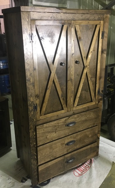 Armoire with 3 Drawers