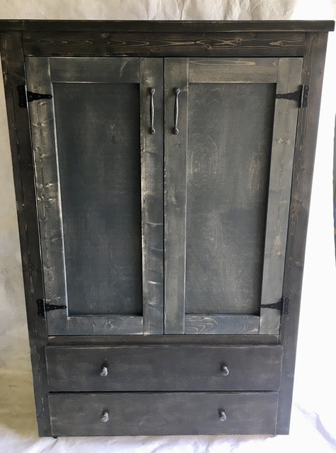 Armoire with 2 Drawers