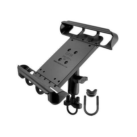 RAM Handlebar Mount with Tab-Tite Universal Cradle for Tablets with Cases (RAM-B-149Z-TAB8U) - RAM Mounts Taiwan - Mounts Taiwan