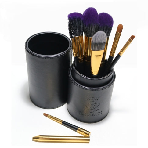 Makeup Brush Set 8 Piece By New Elements