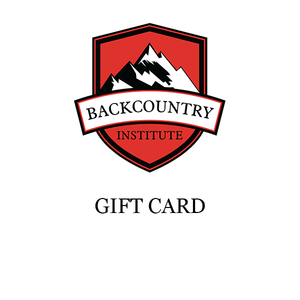 Backcountry Institute Gift Card