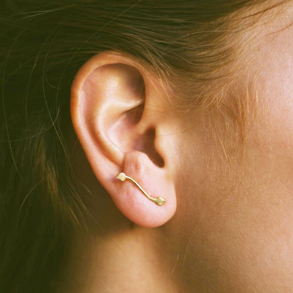 plain wave ear climber