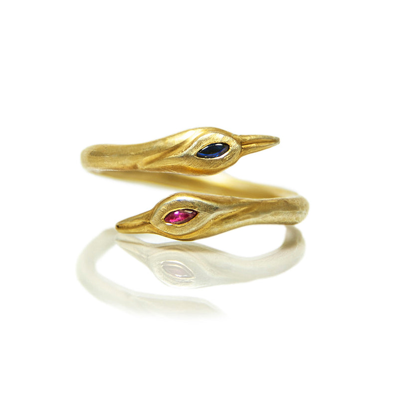 Lovers Crane Ring