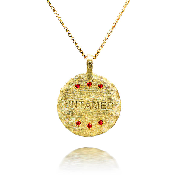 UNTAMED Coin with ruby