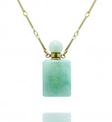 potion in a bottle - Amazonite Rectangle