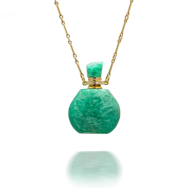 potion in a bottle - Amazonite