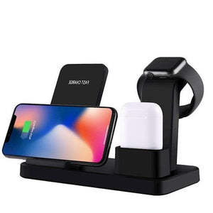 3 in 1 Wireless Charging Stand for iPhone and Apple Watch