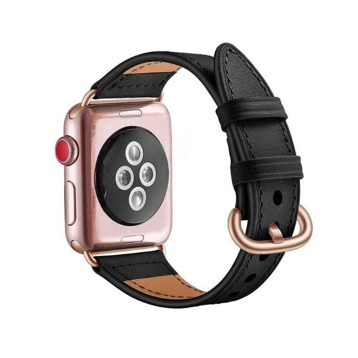 APPLE WATCH SERIES 1, 2 & 3 - 42MM FAUX LEATHER BAND pink