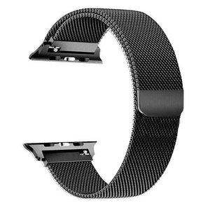 Apple Watch Series 4 Band - 44mm Milanese Loop Strap Black