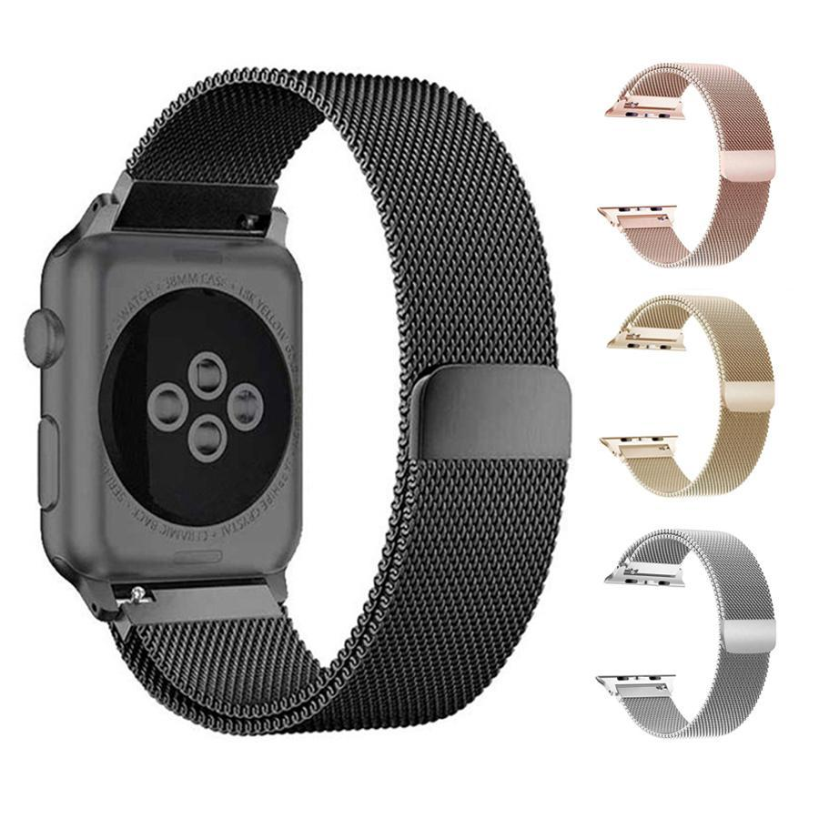 Apple Watch Series 4 Band - 44mm Milanese Loop Strap iPhone