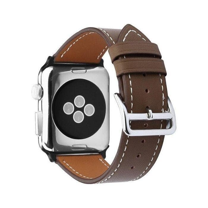 Apple Watch Series 4 Band - 40mm Genuine Leather Strap