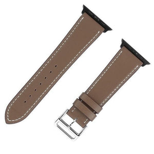 Apple Watch Series 4 Band - 40mm Genuine Leather Strap brown