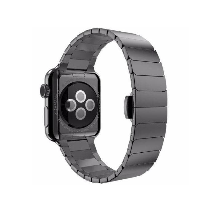 Apple Watch Series 4 Band - 40mm Stainless Steel Link Strap black