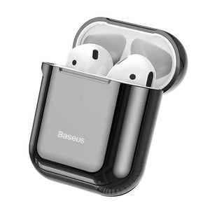 Baseus Shining Hook Case For AirPods 1/2nd Generation - Black