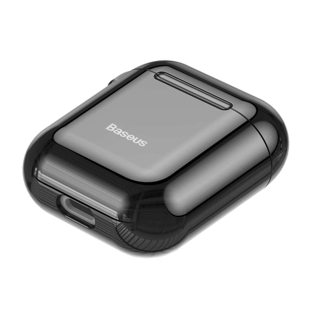 Baseus Shining Hook Case For AirPods 12nd Generation - Black iPhone