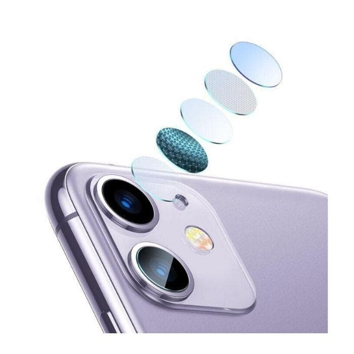Baseus Camera Lens Film for iPhone 11 - Transparent