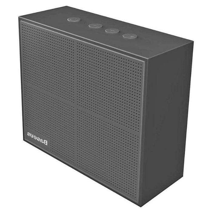 Baseus Encok Music Cube Wireless Speaker - Black smartphone