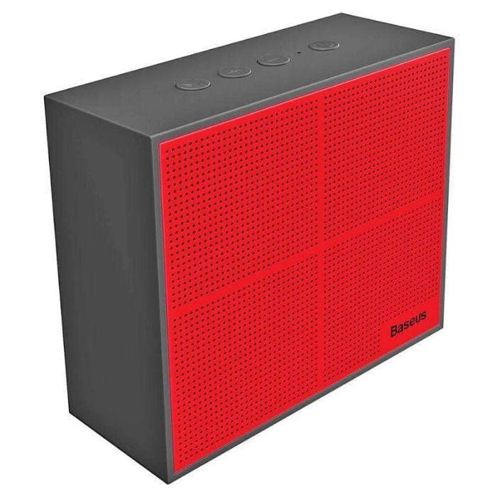 Baseus Encok Music Cube Wireless Speaker - RedBlack