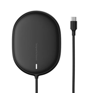Baseus Light Magnetic Wireless Charger - Black