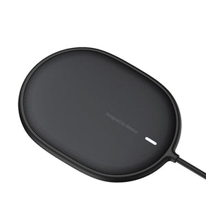 BaseusLightMagneticWirelessCharger-BlackiPhone
