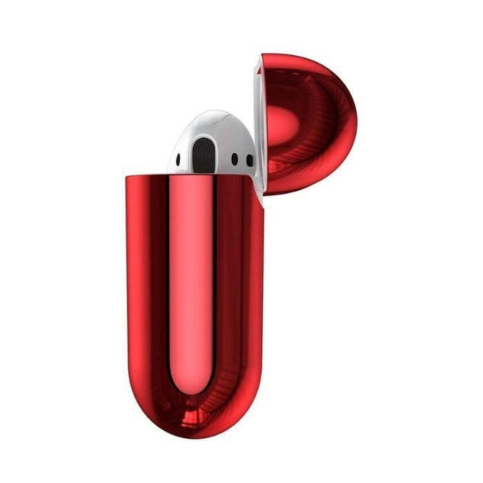 Baseus Shining Hook Case For AirPods 1/2nd Generation - Red iPad