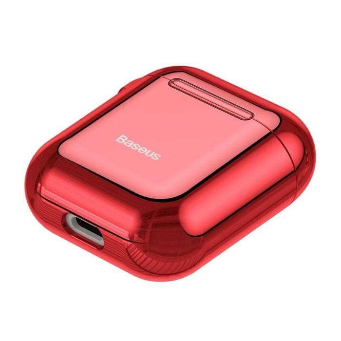 Baseus Shining Hook Case For AirPods 1/2nd Generation - Red iPhone