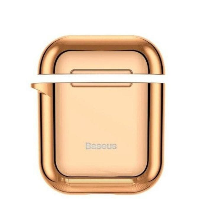 Baseus Shining Hook Case For AirPods 1/2nd Generation - Gold