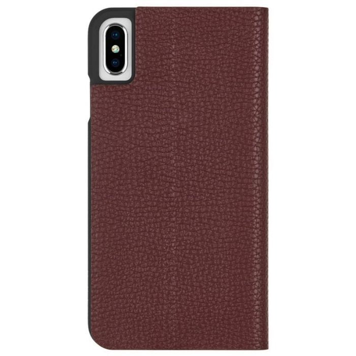 Case-Mate Barely There Foli Minimalist Case For iPhone XS Max - Brown