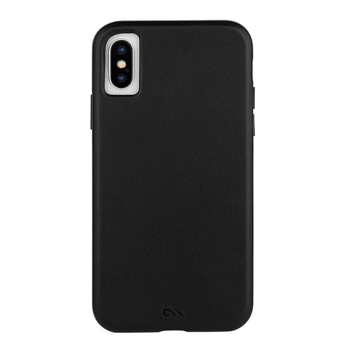 Case-Mate Barely There Leather Minimalist Case For iPhone X/XS - Black