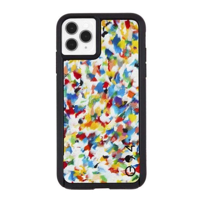 Case-Mate Eco Reworked Case For iPhone 11 Pro Max - Rainbow Confetti