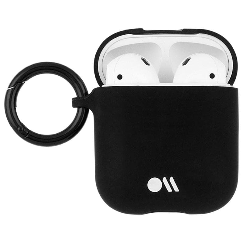 Case-Mate Flexible Case for AirPods 1 & 2 - Black open