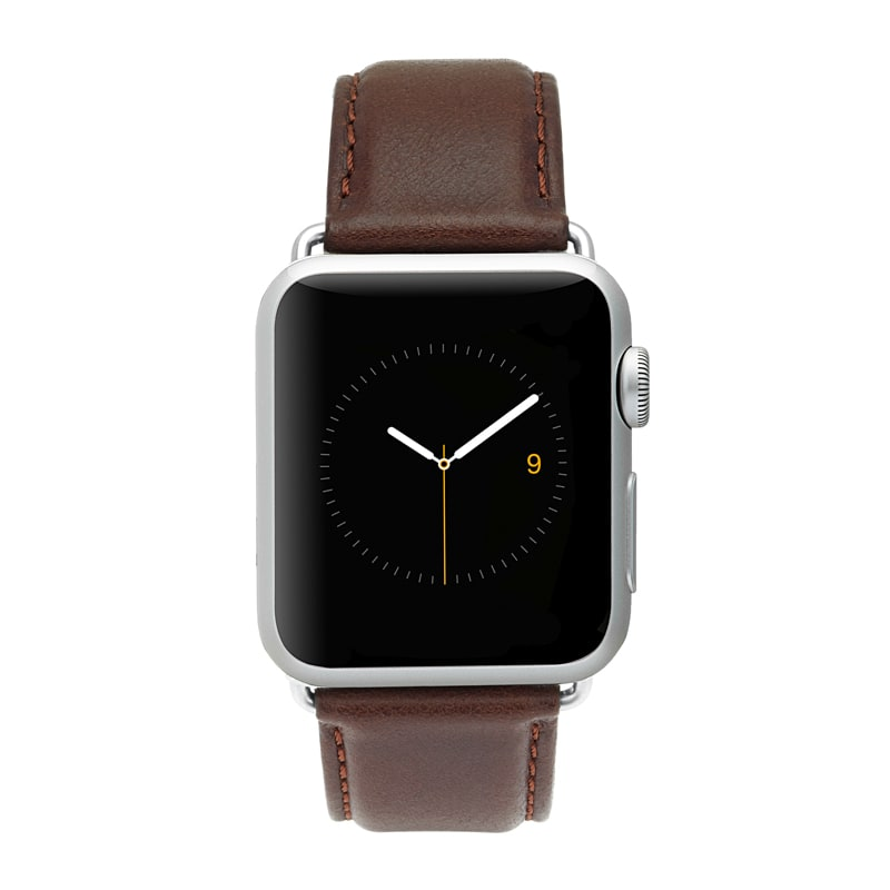 Case-Mate Signature Leather Apple Watch band 4/5/6/SE 42-44mm - Brown