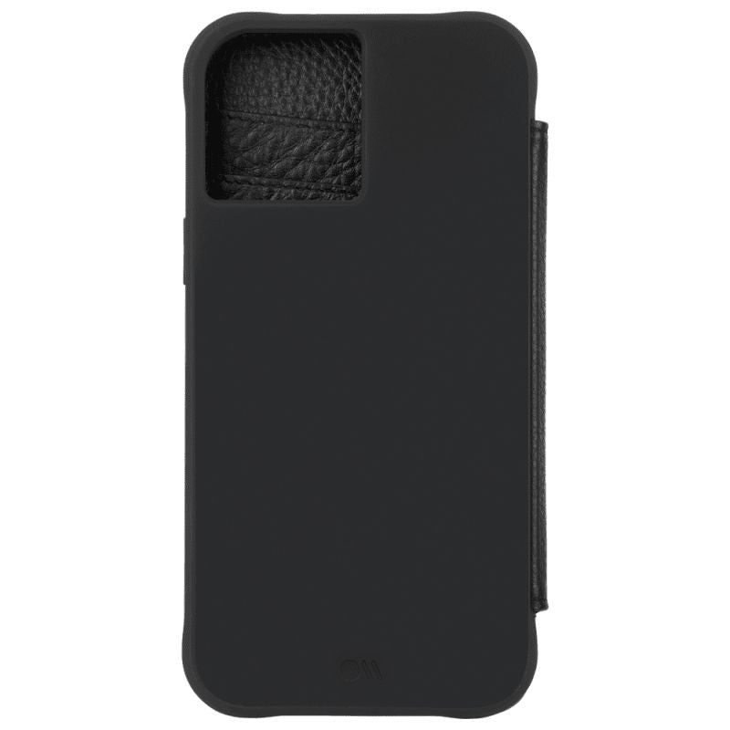 Case-Mate Wallet Folio Case For iPhone 12/12 Pro - Black