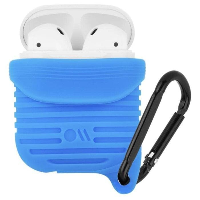 Case-Mate Water Resistant Cases for AirPods 1 & 2 - Blue