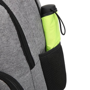 Casual Backpack with USB Charging Port side