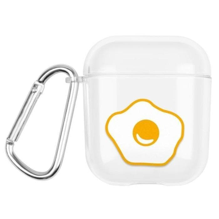 Clear Case For Apple AirPods 1 & 2 - Eggy