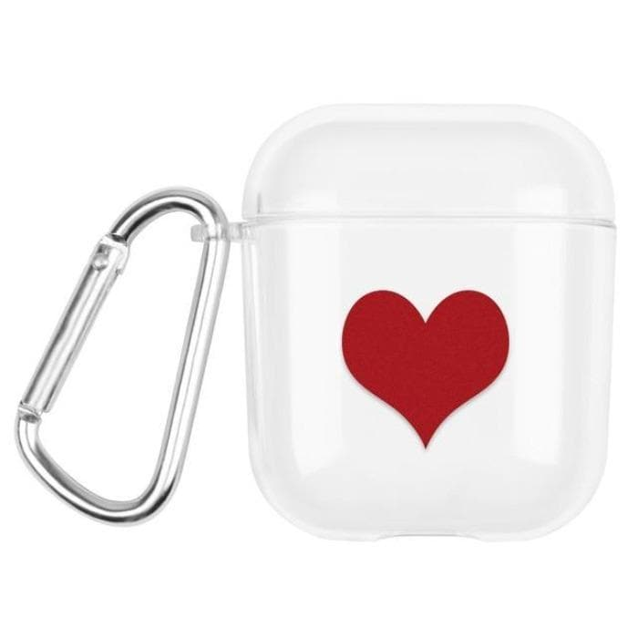 Clear Case For Apple AirPods 1 & 2 - My Heart