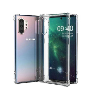 Clear Jelly Case for Samsung Galaxy Note 10 Plus